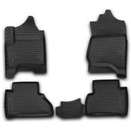 Комплект ковриков в салон автомобиля Novline-Autofamily Kia Sportage 2006-2010. Цвет: черный - фото 10