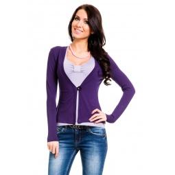 фото Жакет Mondigo 426. Цвет: темно-фиолетовый