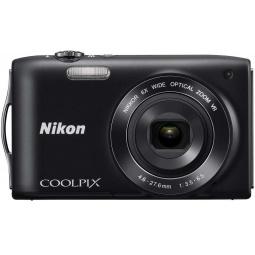 фото Фотокамера цифровая Nikon CoolPix S3300. Цвет: черный