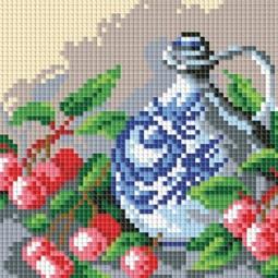 фото Набор для создания мозаики Белоснежка «Кувшин и вишня»