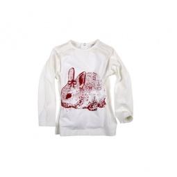 Купить Толстовка BESTA PLUS Ino Girl «Кролик». Цвет: экрю