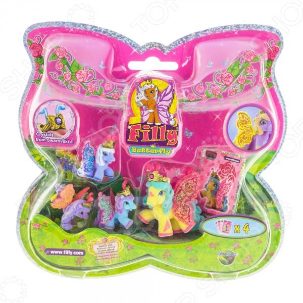 Игровой набор фигурок Dracco «Волшебная семья» LotusИгровые наборы с персонажами мультфильмов, сказок и комиксов<br>Игровой набор фигурок Dracco Волшебная семья Lotus это комплект детализированных фигурок, которые точно понравятся вашему ребенку. Насыщенные цвета игрушки привлекут внимание ребенка и позволят надолго погрузиться в игру. Яркий набор может стать подарком для любой девочки, ведь такие фигурки подойдут для создания настоящих историй про принцесс и их приключения. Игра с фигуркой развивает в ребенке не только фантазию, но и мелкую моторику рук, логическое мышление и воображение. Все детали набора достаточно прочные и они абсолютно безопасны для ребенка.<br>