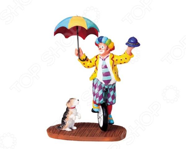 где купить Фигурка керамическая Lemax «Клоун» дешево