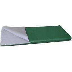 фото Спальный мешок ALASKA «Одеяло +15 С». Цвет: зеленый