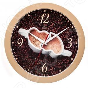 Часы настенные Вега П 1-14/7-225 «Кофе для двоих» часы настенные вега п 1 14 7 12