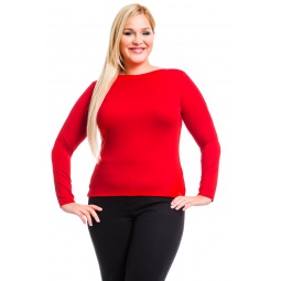 фото Кофта Mondigo XXL 405. Цвет: красный. Размер одежды: 54