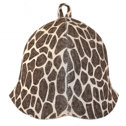 фото Шапка банная EVA «Жираф»