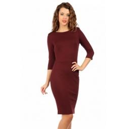 фото Платье Mondigo 5059. Цвет: бордовый