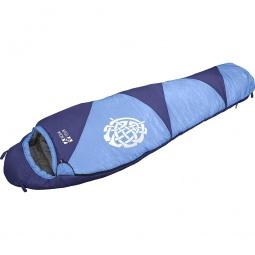 фото Спальный мешок NOVA TOUR «Сибирь XL». Расположение молнии: правостороннее. Цвет: голубой, синий