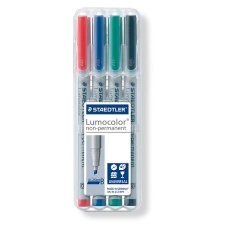 Купить Набор неперманентных маркеров Staedtler 312