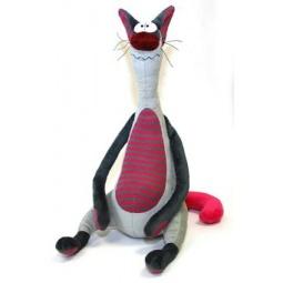фото Мягкая игрушка Зверюшки «Кот Обормот»