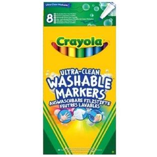 Купить Набор фломастеров смываемых Crayola 58-8330 «Супер чисто»
