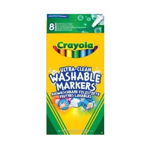 фото Набор фломастеров смываемых Crayola 58-8330 «Супер чисто»