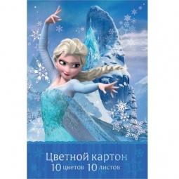 фото Набор картона цветного Росмэн «Холодное сердце» 26749