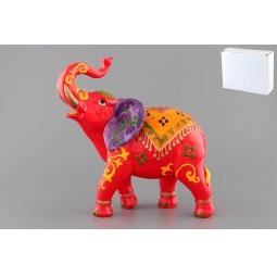 Купить Фигурка декоративная Elan Gallery Слон красный