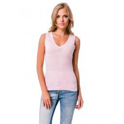 фото Майка Mondigo 9826. Цвет: бледно-розовый. Размер одежды: 46