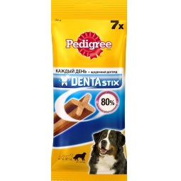 фото Пластинки для снятия зубного камня у собак крупных пород Pedigree Denta Stix Daily Big
