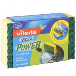 фото Губка глитци Vileda «Power экстра очищение», 1 шт