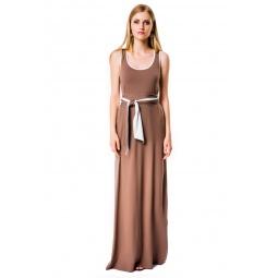 фото Платье Mondigo 7041. Цвет: какао. Размер одежды: 46