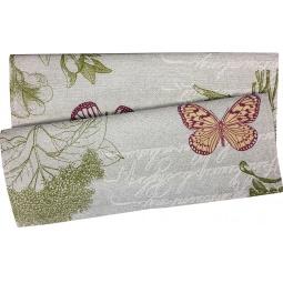фото Полотенце из рогожки BONITA «Бабочки»