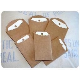 фото Набор тегов в крафт-пакетиках Melissa Frances GN341
