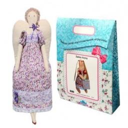 Купить Подарочный набор для изготовления текстильной игрушки Кустарь «Ангелина»