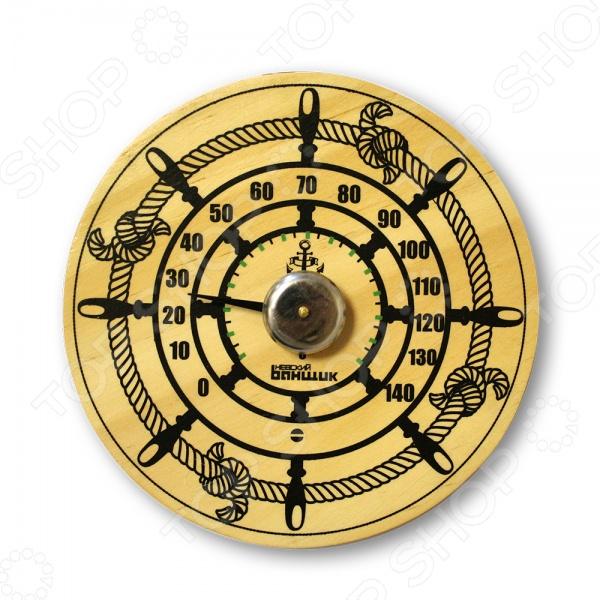 Термометр для бани и сауны EVA «Штурвал»