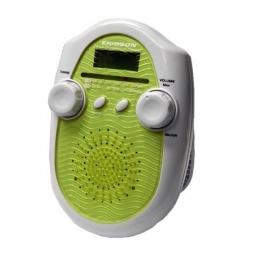 фото Радиочасы для душа ERISSON RWR-1388. Цвет: зеленый, белый