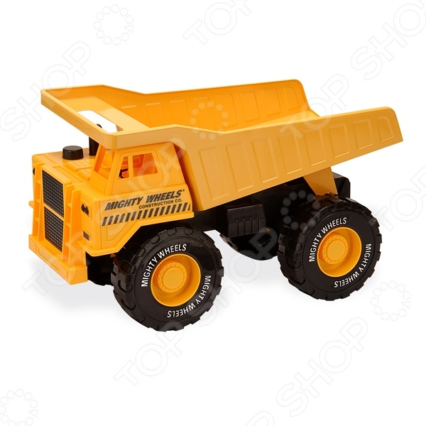 Машинка игрушечная Soma «Карьерный грузовик» 79388NМашинки<br>Машинка игрушечная Soma Карьерный грузовик 79388N это миниатюрная версия мощной строительной техники. Внешняя схожесть с настоящими карьерными самосвалами, наличие движущихся колёс и подъёмного кузова-самосвала позволит детишкам почувствовать себя в игре участниками реальной стройки.<br>