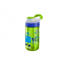 фото Бутылка для воды детская Contigo Gizmo Sip. Цвет: зеленый
