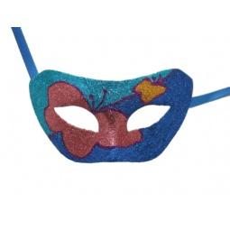 фото Полумаска карнавальная Феникс-Презент «Бабочки» 34657