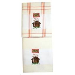 фото Комплект из 2-х вафельных полотенец BONITA «Кастрюля»