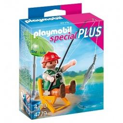 фото Набор фигурок к игровому конструктору Playmobil «Дополнение: Рыбак со снастями»
