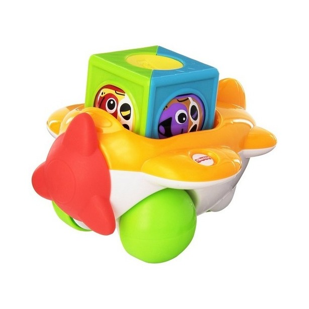 фото Набор развивающий Fisher Price CDC19 «Самолетик с кубиками»