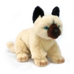 фото Мягкая игрушка для ребенка Hansa «Кошка сиамская»