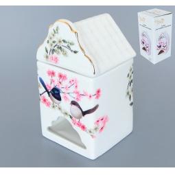 фото Банка для чайных пакетиков Elan Gallery «Райские птички»