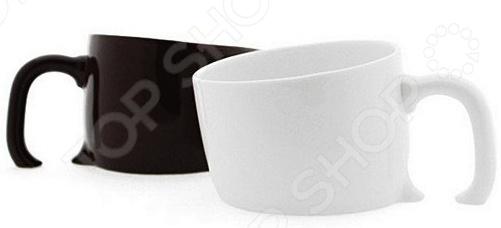 Товар продается в ассортименте. Цвет изделия черный или белый при комплектации заказа зависит от наличия товарного ассортимента на складе. Кружка 31 век Затонувшая это иллюзия, воплощенная в керамике. Создается оптический обман, будто чашка утонула в поверхности стола. При этом изделие полностью функционально. Эта уникальная кружка станет замечательным подарком другу и отлично впишется в домашний или офисный интерьер. Удивите друзей и близких.