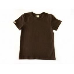 фото Футболка для мальчиков Ёмаё. Цвет: коричневый. Размер: 32. Рост: 122 см