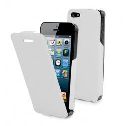фото Чехол и пленка на экран Muvit iFlip для iPhone 5. Цвет: белый