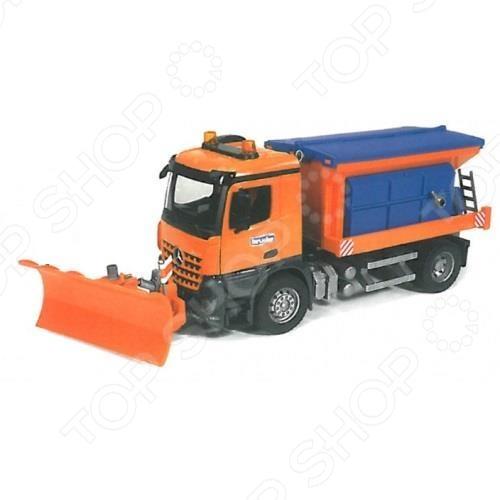 Машинка игрушечная Bruder «Снегоуборочная машина» MB Arocs