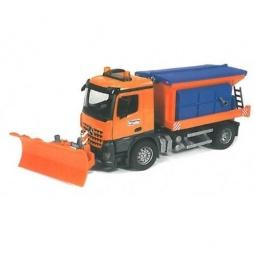 фото Машинка игрушечная Bruder «Снегоуборочная машина» MB Arocs