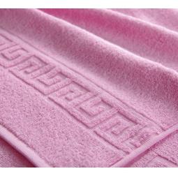 фото Полотенце махровое Asgabat Dokma Toplumy. Размер: 100х180 см. Цвет: светло-розовый