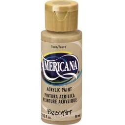 фото Краска акриловая DecoArt Премиум Americana. Цвет: бледно-коричневый