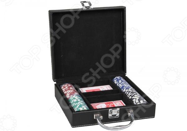Набор для покера Rosenberg 6919Блэкджек. Покер<br>Набор для покера Rosenberg 6919 - замечательный набор для двоих игроков, который поможет скоротать свободное время. Игра в покер стала уже традицией, ведь это не только увлекательное занятие, но и возможность проверить себя на внимательность, логику и удачу. В набор входят элегантные фишки и две колоды карт. Все элементы упакованы в стильный чемоданчик, который позволяет взять игру с собой куда бы вы не направлялись. Набор для покера Rosenberg 6919 станет отличным приобретением для новичков.<br>