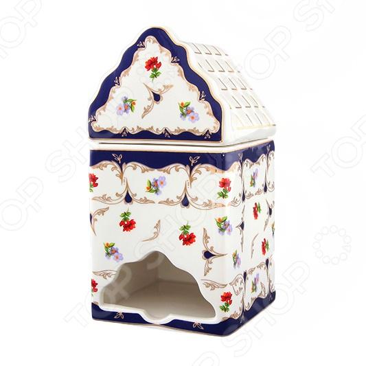 Банка для чайных пакетиков Elan Gallery Цветочек станет украшением вашего стола. Красивое оформление стола как праздничного, так и повседневного это целое искусство. Правильно подобранная посуда это залог успеха в этом деле. Такая оригинальная посуда придется по вкусу даже самым требовательным хозяйкам и придаст особый шарм и очарование сервируемому столу. В этой банке вы сможете не просто хранить чайные пакетики в шкафу, но и прямо в ней подавать пакетики на стол.