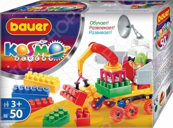 Конструктор игровой Bauer кр329Игровые конструкторы<br>Конструктор игровой Bauer кр329 - интересная и увлекательная игрушка, которая откроет вашему ребенку совершенно новый мир приключений и необычных историй, автором которых сможет стать он сам. Яркие и качественные элементы конструктора выполнены из прочного и безопасного пластика, легко складываются и компонуются. Ребенок с увлечением будет собирать конструктор и придумывать новые сюжеты для игр. Кроме того, собрать конструктор вашему малышу могут помочь его друзья - деталей хватит на всех. Подобное времяпрепровождение превратит развивающие занятия в увлекательную игру, разовьет в детях чувство товарищества, внимательность и ответственность. Подарите своему ребенку массу положительных эмоций и отличное настроение!<br>
