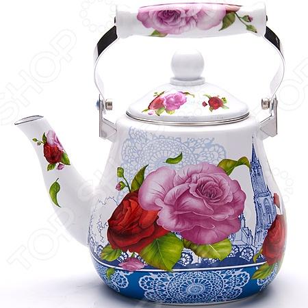 Чайник эмалированный Mayer&amp Boch MB-23992 «Цветы» Mayer&Boch - артикул: 692924