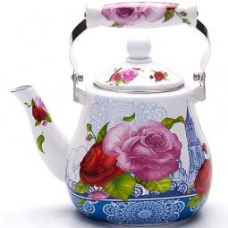 фото Чайник эмалированный Mayer&Boch MB-23992 «Цветы»
