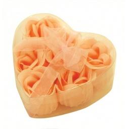 фото Цветы мыльные Банные штучки «Розы в Сердце» 6 штук. В ассортименте