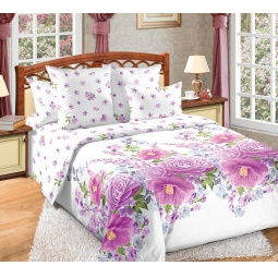 фото Комплект постельного белья Королевское Искушение с компаньоном «Камелия». Семейный